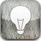 tip, light, Energy, off, hint DarkGray icon