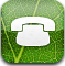 Blink, Tel, telephone, phone DarkGreen icon