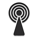 Broadcast Black icon