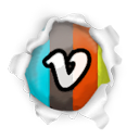 Vimeo Gainsboro icon