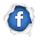 Social, Facebook, Sn, social network Gainsboro icon