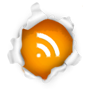 subscribe, feed, Rss Gainsboro icon