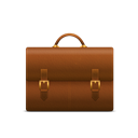 Briefcase Black icon