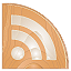 subscribe, Rss, feed SandyBrown icon