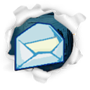 Email, mail, Letter, Message, envelop Gainsboro icon