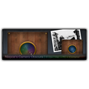 Camera, obscura, teaser, photography, niepces DarkSlateGray icon