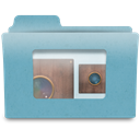photography, obscura, Folder, niepce, Camera CadetBlue icon