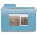 obscura, Folder, photography, niepces, Camera CadetBlue icon