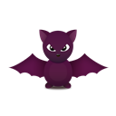 batty, trans, Animal, bat Black icon