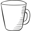 cup, Coffee, drinks, tea, drinking Black icon