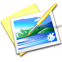 Kpaint Black icon