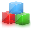 module, cub, Blockdevice Red icon