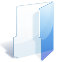 Blue, Folder Lavender icon