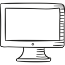 Televisions, Computer Screen, television, Technological, Tv Screen, Computer Monitor, technology Black icon