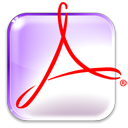 Acroread Lavender icon
