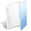 File, paper, Folder, document WhiteSmoke icon
