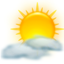 weather, sun, Kweather, climate Gold icon