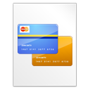 paper, File, document, check out, Vcard, Credit card, profile, business card, pay, payment WhiteSmoke icon