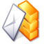 Kmail Black icon