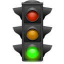 light, tip, hint, Daemon, Traffic, Energy DarkSlateGray icon