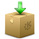 Arrow, download, Box, Decrease, package, descending, Down, Descend, Ark, pack, fall BurlyWood icon