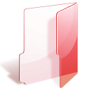 red, Folder MistyRose icon