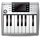 Kcmmidi, midi, Keyboard, music DimGray icon