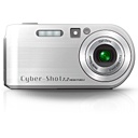 unmount, photography, Camera Silver icon