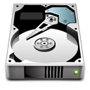 disc, hard drive, save, Disk Gainsboro icon