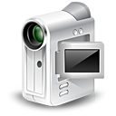 Webcam, unmount, camcorder, Cam Gainsboro icon