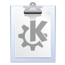 Clipboard, paste, klipper WhiteSmoke icon
