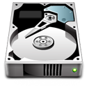 Hdd, unmount, hard drive, hard disk Gainsboro icon