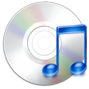 save, music, unmount, Cdaudio, Cd, itunes, Disk, disc LightGray icon