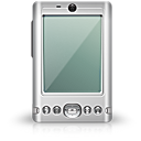 smart phone, pda, palm DarkGray icon