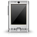 pda, Black Gray icon
