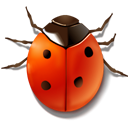 insect, ladybird, Animal, bug Firebrick icon