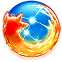 Firefox, Browser, Alt DodgerBlue icon