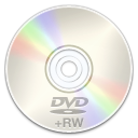 Rw, disc, Dvd Black icon