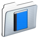 Folder, Library DodgerBlue icon