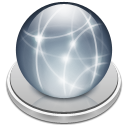 connected, paper, File, document, Server Silver icon