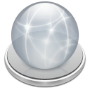 File, Server, disonnected, document, paper Silver icon