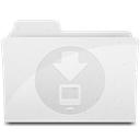 downloadsfolder Gainsboro icon