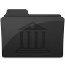 Libraryfoldericon DarkSlateGray icon