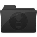 downloadsfolder DarkSlateGray icon