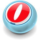 Browser, Opera SkyBlue icon