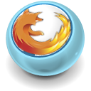 Firefox, Browser SkyBlue icon