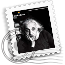 Einstein Black icon