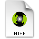 Aiff Black icon