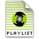 playlist Black icon
