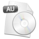 Au, Filetype WhiteSmoke icon